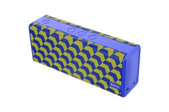 DS1771YEL DOSS Soundbox Colour Speaker Bluetooth Blue/Yellow  Sleekly Designed With Portability In Mind  SOUNDBOX COLOUR SPEAKER