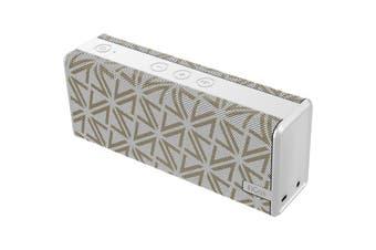 DS1771WHT DOSS Soundbox Colour Speaker Bluetooth Soundbox Colour Wht  Sleekly Designed With Portability In Mind  SOUNDBOX COLOUR SPEAKER