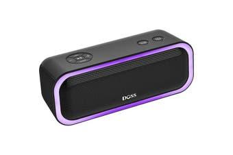 WB10BLK DOSS Soundbox Pro Bluetooth Speaker Black  Beat-Driven Light Show  SOUNDBOX PRO BLUETOOTH SPEAKER