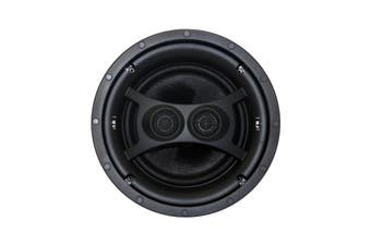 "ECS8DUAL EARTHQUAKE 8"" Ceiling Stereo Speaker Dipole/Bipole Single Ecs8d ECS8 DUAL  Dual Voice Coil Woofers With Kevlar Cone Bodies  8"" CEILING STEREO SPEAKER"