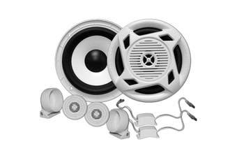 MC5 EARTHQUAKE Marine Grade Speaker Set Waterproof Crossover Speakers MC5  145 Watts Max. Power  MARINE GRADE SPEAKER SET