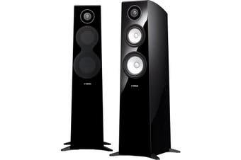 NSF700BGP YAMAHA 3 Way Floorstanding Speakers Gloss Black NSF700    3 WAY FLOORSTANDING SPEAKERS