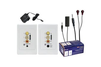 PRO1199 Pro2 Active Composite Stereo + IR Cat5 Extender Suits Clipsal  Deco Style Wall Plates  ACTIVE COMPOSITE STEREO + IR