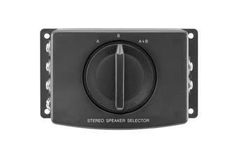 PRO1001 Pro2 2 Way Stereo Speaker Switch a/ B/ a+B Selector  Select Speaker Set a, B or a+B  2 WAY STEREO SPEAKER SWITCH