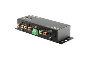 SW-L1 MCLELLAND Line Level Audio Ab Switch Box Upto 24V Spdt Relay Output  Delay Switch From 0.5 Seconds To 2 Minutes  LINE LEVEL AUDIO AB SWITCH BOX