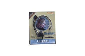 HS910  Headset To Suit Uniden Phones Compatible With Most Phones  Lightweight  HEADSET TO SUIT UNIDEN PHONES