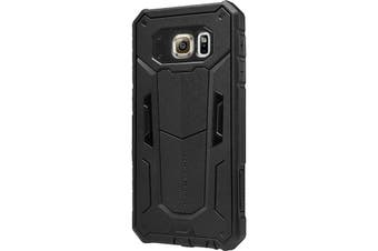 NLK01S6BLK  Nillkin Samsung S6 Case Black Defender 2 Series Phone Case  Dual Layer Structure Effectively Protects Phone From Drops, Shocks  NILLKIN SAMSUNG S6 CASE BLACK