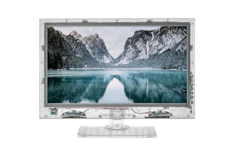 """19LED19HDL WINTAL 19"""" Transparent HD LED TV Clear Frame / LCD 150Cm Lead"""