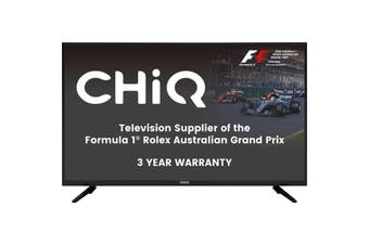 "L24H4  Chiq 24"" Fhd LED TV With PVR 12V 3 Yr Warranty  12V DC Adapter - Perfect For Caravans!  CHIQ 24"" FHD LED TV WITH PVR"