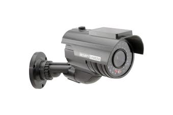 S9179B DOSS Dummy Security Camera Solar Rplced by S9179b Due Feb2020  Includes Built-In Lithium Battery and Solar Panel Charger For Illuminating the Warning LED  DUMMY SECURITY CAMERA SOLAR