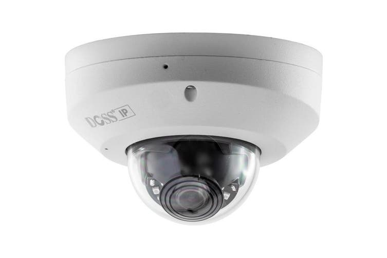 DM10IPMIC DOSS Dome IP Camera With Microphone PoE 10M IR 1080P 2.8Mm Lens  2.8Mm Lens  DOME IP CAMERA WITH MICROPHONE
