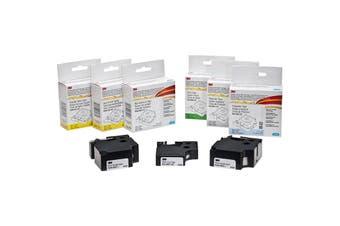 """HS-WHT-1/4 DYMO Refill Cartridge - 1/4"""" White Heat Shrink (6Mm) 3M Labeler    REFILL CARTRIDGE - 1/4"""" WHITE"""