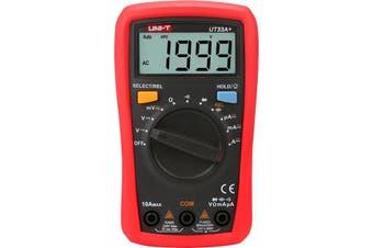 UT33A+ UNI-T Palm Size Digital Multimeter Auto-Range  LCD Display�  PALM SIZE DIGITAL MULTIMETER