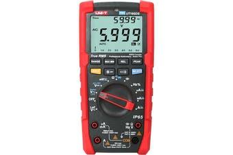 UT195DS UNI-T Ip65 True Rms Pro Multimeter Waterproof Flash Light Motor  Large 6000-Count LCD Screen  IP65 TRUE RMS PRO MULTIMETER