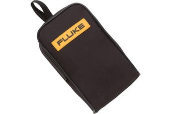 C25 FLUKE Case For 80 110 170 180 Fluke Meters  Water Resistant Zipper, Two Inside Pockets For Test Leads and Small Accessories  CASE FOR 80 110 170