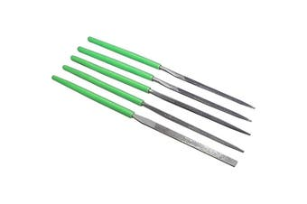 NFS5 PROSKIT 5Pc Needle File Set 8Pk-605A  Kit Includes Flat, Square, Two Triangular and a Half Round File  5PC NEEDLE FILE SET