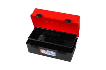 """1H125 FISCHER PLASTIC 13"""" Medium Tool Box Fischer Plastic  With Lift-Out Tray  400(W) x 230(D) x 203(H)mm."""