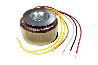 2X12V80 TORTECH 12V + 12V 80Va Toroidal Transformer  Primary Voltage: 240V Ac  12V + 12V 80VA TOROIDAL