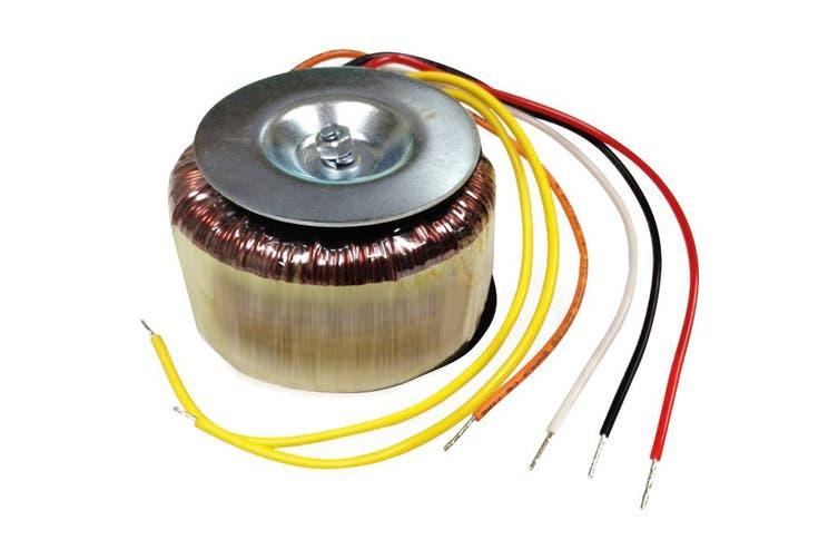 2X25V80 TORTECH 25V + 25V 80Va Toroidal Transformer  Primary Voltage: 240V Ac  25V + 25V 80VA TOROIDAL