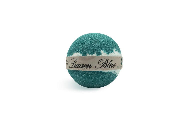 Handcrafted Natural Luxury Ralph Lauren Blue Bath Bomb 135g