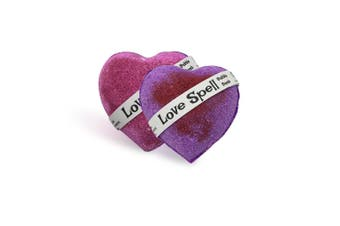 Love Spell Heart Bubble Bath Bomb 135g