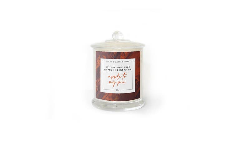 Apple + Honey Crisp Hand Poured Soy Aromatherapy Candle