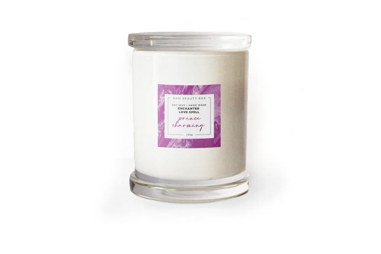 Enchanted Love Spell Hand Poured Soy Aromatherapy Candle