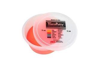 1 Tub x Cando Theraputty 85g /3oz ( Soft ) - Red