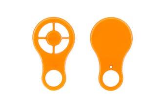 Key Automation/Boss BHT20 Forza 1200 Genuine Orange Remote Case/Shell ONLY