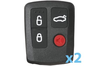 To Suit 2 X FORD Falcon BA-BF Car Remote