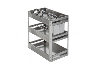 Chef Kitchen Pull-Out Cupboard Organiser - to suit a 300mm cupboard