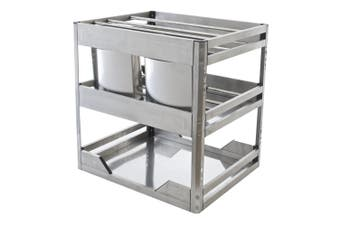 Chef Kitchen Pull-Out Cupboard Organiser - to suit a 400mm cupboard