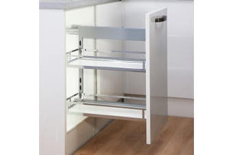 Provedore Pull-Out Under-Bench Storage - for 200mm Cabinet - Right Side Mount