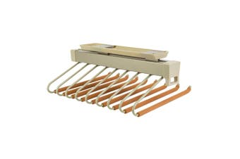 Slide-Out Trouser Rack - Top-Mounted - Holds 9 Pairs