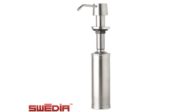 Felix Stainless Steel Soap Dispenser - Brushed