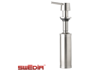 Neo Stainless Steel Soap Dispenser - Brushed