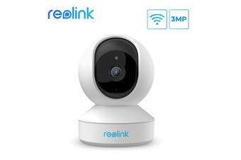 Reolink Wireless Security Camera 3MP HD Plug-in WiFi Camera for Home Security Pan Tilt Baby Monitor&Pet Camera/E1