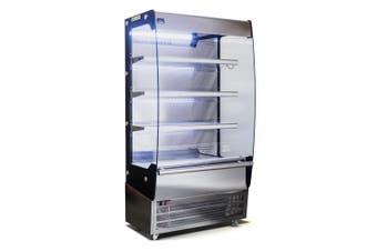 AG 1000MM - 500 Litre - Open Showcase Fridge  AG Equipment