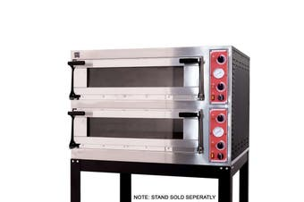 AG Italian Made Commercial 4 Series Electric Double Deck Oven  AG Equipment