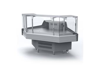 Bromic Square Glass Deli Display DD0090SG
