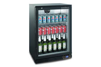 Bromic Back Bar Fridge 118L Hinged Door BB0120GD-NR