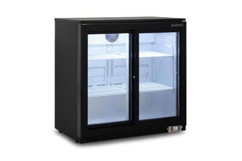 Bromic Back Bar Fridge 190L (Sliding Door) BB0200GDS-NR