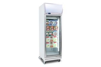 Bromic Upright Display Freezer Flat Glass 444L LED UF0500LF