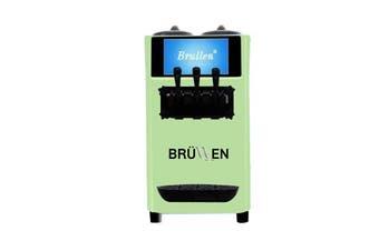 Brullen i26 Twin Twist Soft Serve Ice Cream & Frozen Yogurt Machine - Green