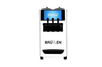 Brullen i26 Twin Twist Soft Serve Ice Cream & Frozen Yogurt Machine - White