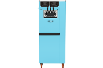 Brullen i95 Plus Gravity - Blue - Three Flavour Floor Standing Ice Cream Machine