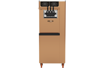 Brullen i95 Plus Gravity - Bronze - Three Flavour Floor Standing Ice Cream Machine