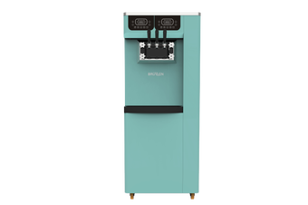 Brullen i95 Plus Gravity - Three Flavour Floor Standing Ice Cream Machine - Green