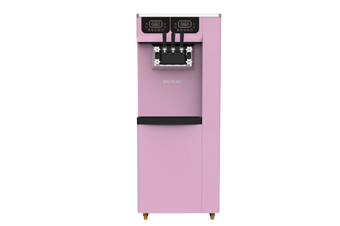 Brullen i95 Plus Gravity - Three Flavour Floor Standing Ice Cream Machine - Pink
