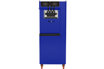 Brullen i95 Plus Pump - Three Flavour Floor Standing Ice Cream Machine - Dark Blue